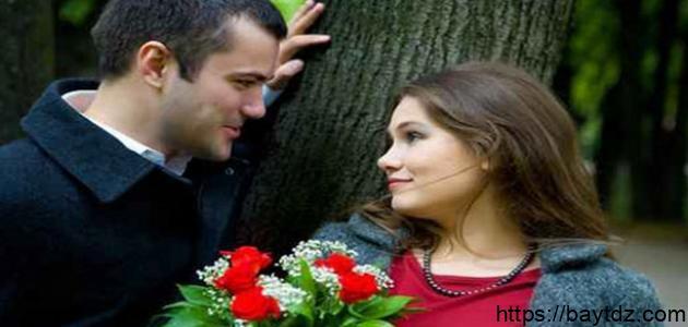 علامات الحب عند المرأة في علم النفس