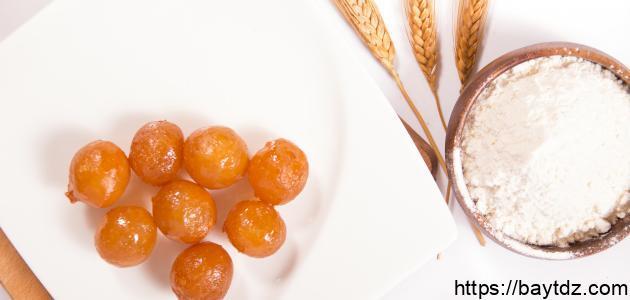 عمل الحلويات في رمضان