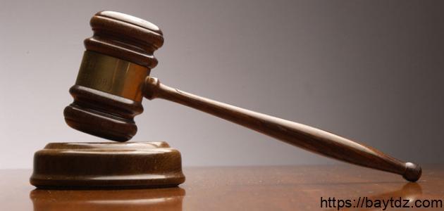 عناصر القاعدة القانونية