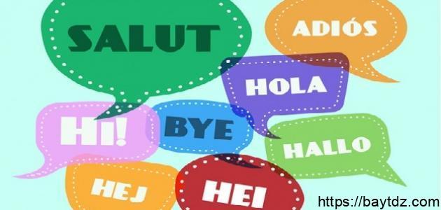 عناصر اللغة