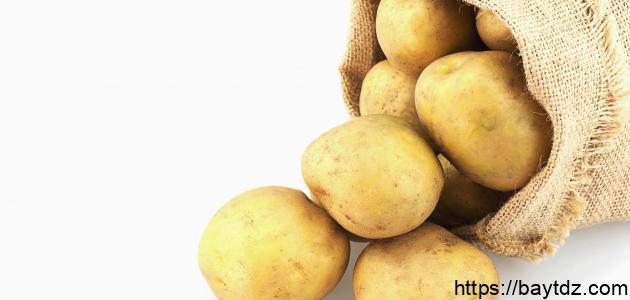فوائد البطاطس للوجه