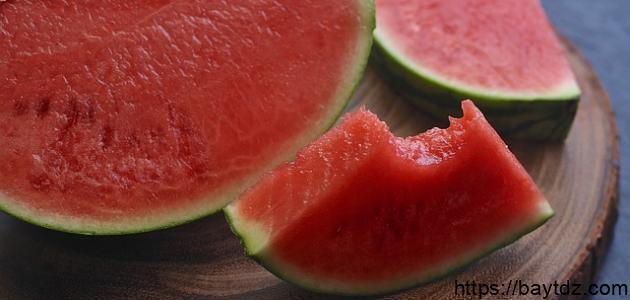 فوائد البطيخ في التخسيس