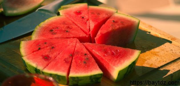 فوائد البطيخ للتخسيس