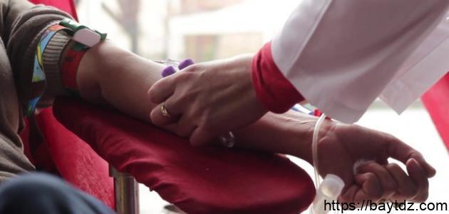 فوائد التبرع بالدم