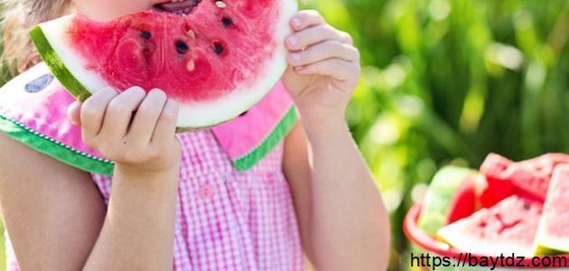فوائد الحبحب للأطفال