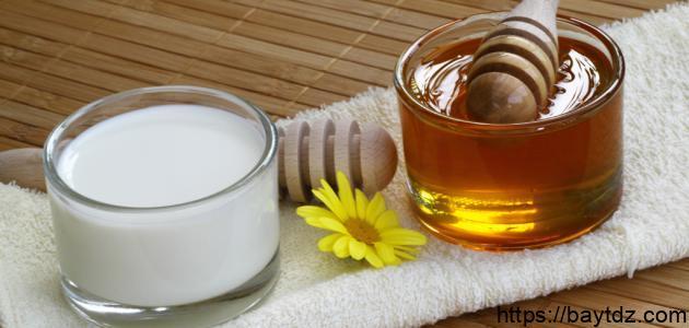 فوائد الحليب بالعسل
