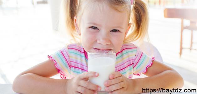 فوائد الحليب للأطفال
