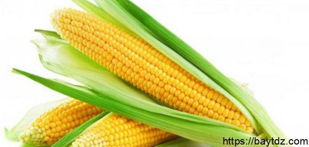 فوائد الذرة للرجيم