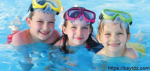 فوائد السباحة للبنات