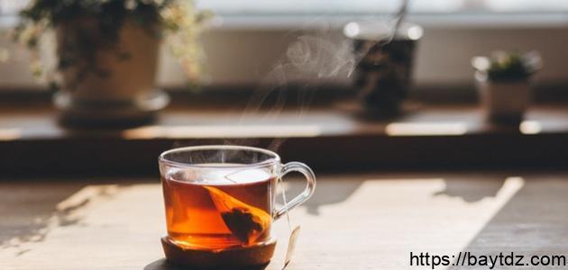 فوائد الشاي الأحمر بعد الأكل