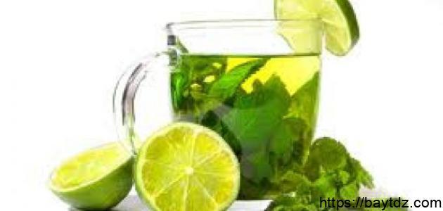 فوائد الشاي الأخضر بالليمون