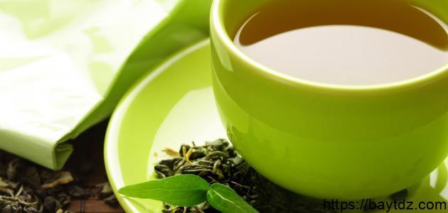 فوائد الشاي الأخضر في حرق الدهون