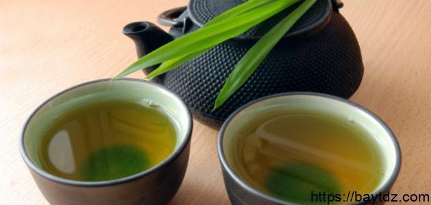 فوائد الشاي الأخضر للوجه