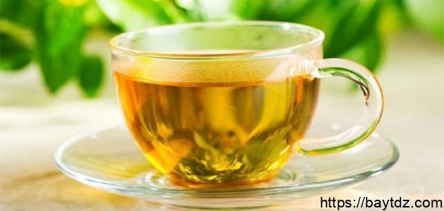 فوائد الشاي الأخضر مع الزنجبيل