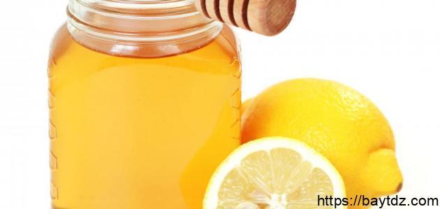 فوائد العسل مع الليمون