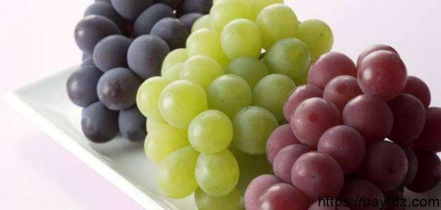 فوائد العنب للحامل في الشهور الأولى