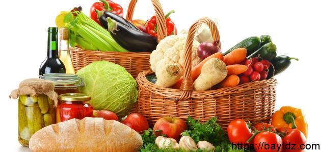 فوائد الغذاء للجسم
