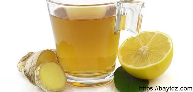فوائد الليمون بالزنجبيل