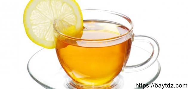 فوائد الليمون مع الشاي الأخضر