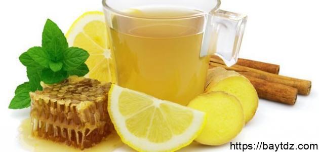 فوائد الليمون والزنجبيل