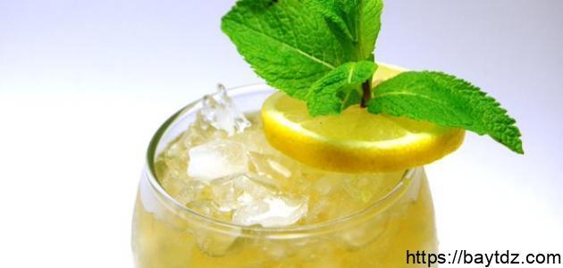 فوائد الليمون والنعناع