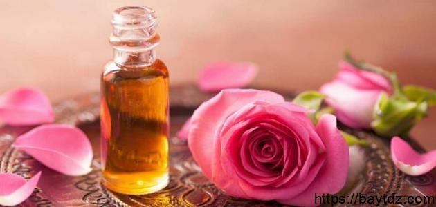فوائد الورد للشعر