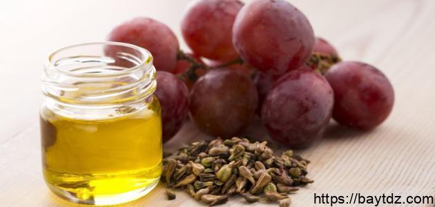 فوائد بذور العنب للشعر