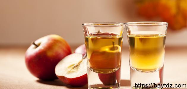 فوائد خل التفاح للحمام