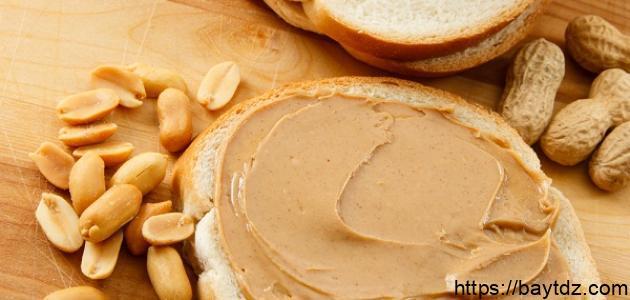 فوائد زبدة الفول السوداني لزيادة الوزن