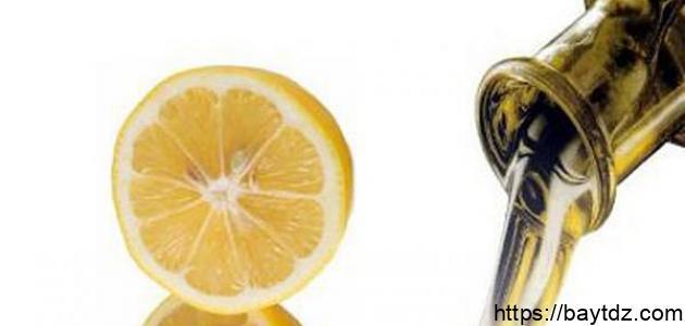 فوائد زيت الزيتون مع الليمون للوجه