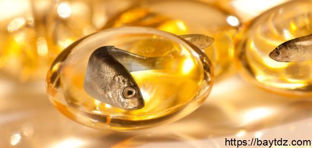 فوائد زيت سمك