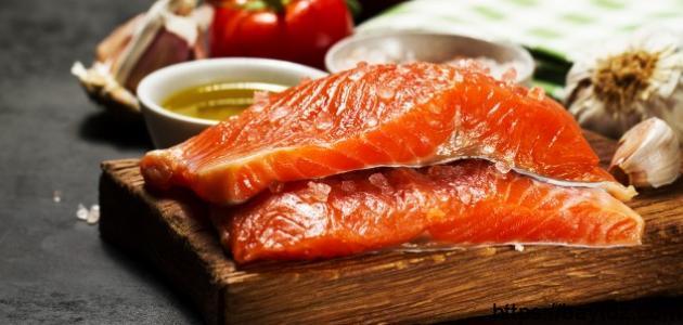 فوائد سمك السلمون للحامل