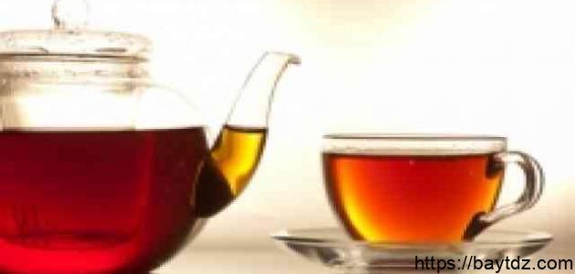 فوائد شاي الأحمر