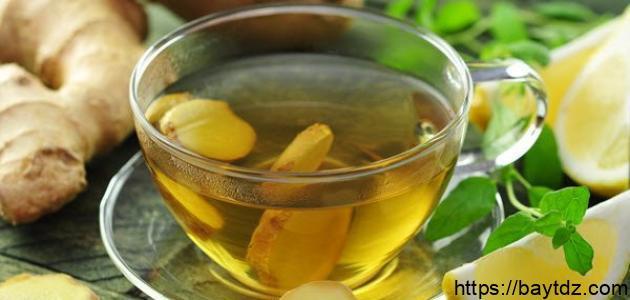 فوائد شاي الزنجبيل للدورة الشهرية