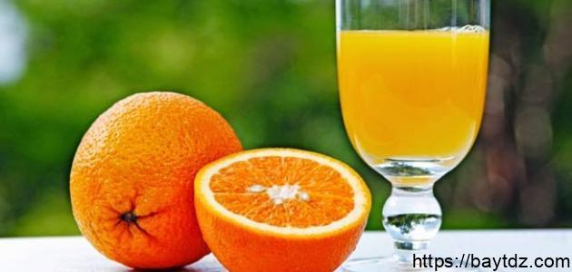 فوائد عصير البرتقال البلدي