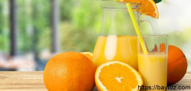 فوائد عصير البرتقال للحامل
