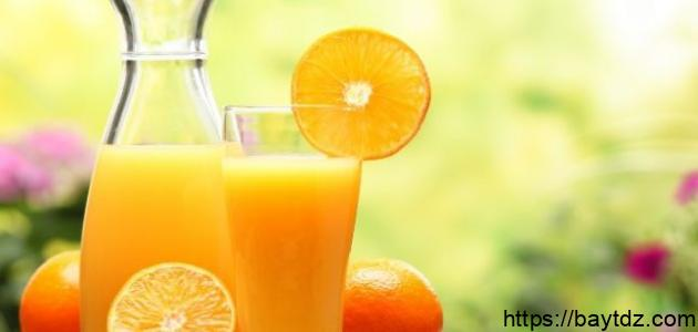 فوائد عصير البرتقال للرضع