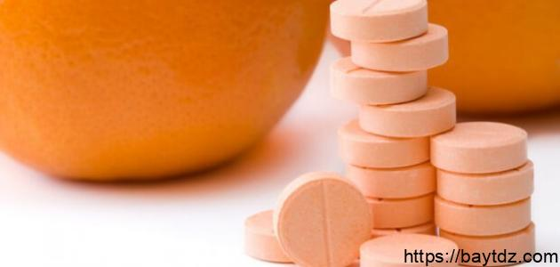 فوائد فيتامين C للهالات السوداء