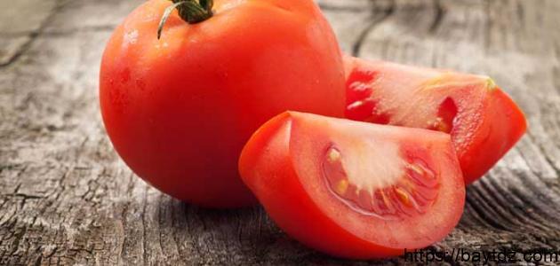 فوائد قناع الطماطم للبشرة