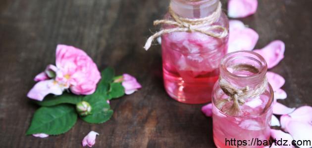 فوائد ماء الورد التركي