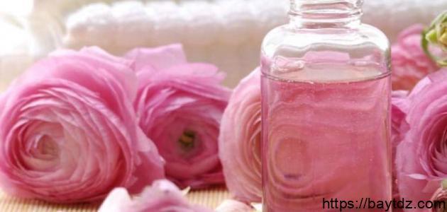 فوائد ماء الورد للبشرة الجافة