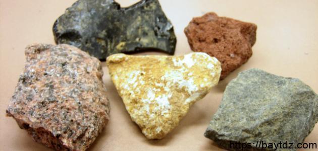فوائد واستعمالات الصخور الرسوبية