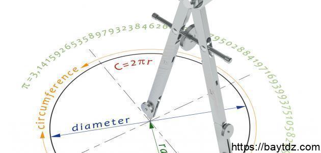 قوانين الدائرة في الرياضيات