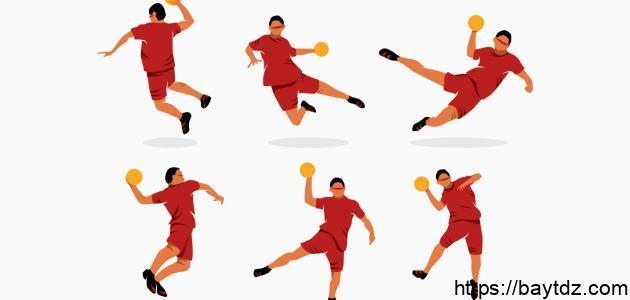 قوانين لعب كرة اليد