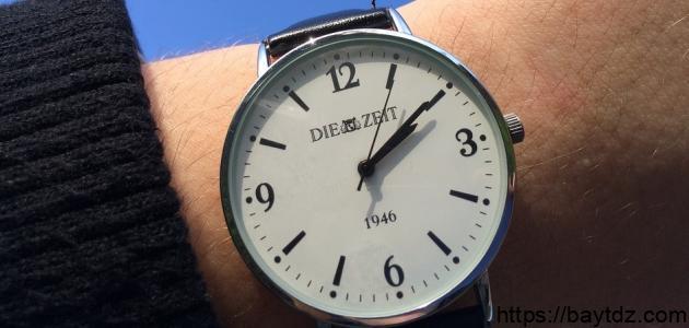 قيمة الوقت