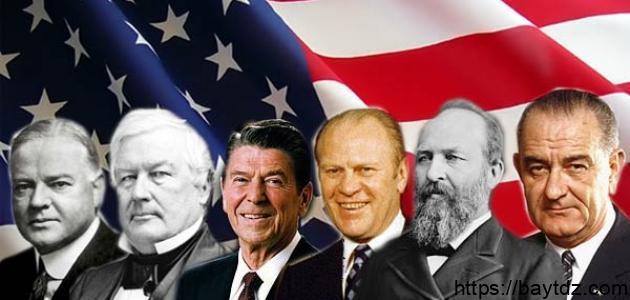 كم رئيساً حكم أمريكا