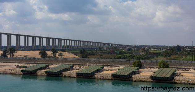 كم سنة استغرق بناء قناة السويس