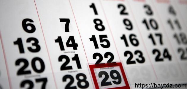 كم عدد أيام السنة الميلادية
