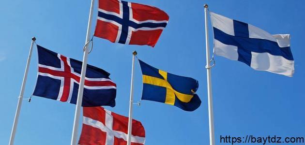 كم عدد الدول الإسكندنافية