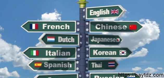 كم عدد اللغات في العالم